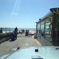 Photo taken at Bagni Ponterosso - Windsurf Center by Piergiorgio G. on 4/8/2012