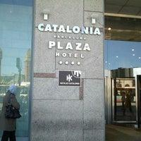 Photo taken at Hotel Catalonia Barcelona Plaza by Edu M. on 5/2/2012