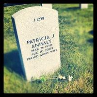 Photo taken at North Dakota Veterans Cemetery by Megan A. on 5/12/2012