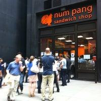 Photo taken at Num Pang Sandwich Shop by Yuki S. on 7/15/2011