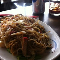 Photo taken at Ming's Noodles by Nick P. on 4/11/2012