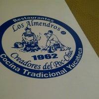 Photo taken at Los Almendros by David A. on 7/20/2012