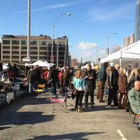 Photo taken at Hell's Kitchen Flea Market by Tony C. on 12/4/2011