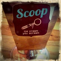 Photo taken at Scoop ice cream by Porsche_Simon (. on 4/5/2012