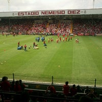 Photo taken at Estadio Nemesio Diez by Herbert G. on 7/22/2012