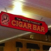 """Photo taken at The """"World Famous"""" Cigar Bar by Clau D. on 11/24/2011"""