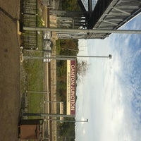 Photo taken at MBTA Canton Junction Station by Ana C. on 9/25/2011