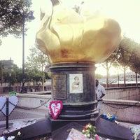 9/2/2012 tarihinde Hugues G.ziyaretçi tarafından Flamme de la Liberté'de çekilen fotoğraf