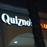Photo taken at Quiznos by Baker M. on 1/24/2012