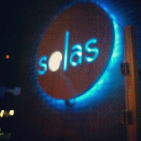 Photo taken at Solas Lounge & Rooftop Bar by Donovan F. on 5/20/2012