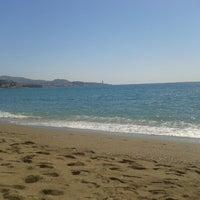 Foto tomada en Playa de La Malagueta por Rubén M. el 9/4/2012