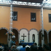 Photo taken at Capilla De Guadalupe by Alejandro C. on 8/31/2012