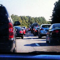 Photo taken at I-295 Exit 28/I-64 by jeffery g. on 8/16/2012