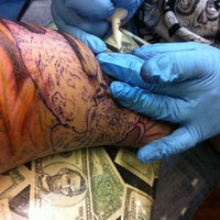 ... Photo taken at Pinz and Needlez Tattoo Studio by Dee V. on 1/4 ...