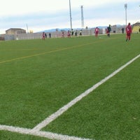 Photo taken at Camp De Futbol De St. Pere Pescador by Jaume S. on 1/29/2012
