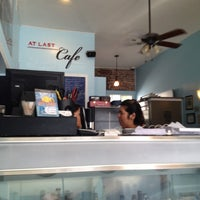 Photo taken at At Last Cafe by vickie m. on 5/12/2012