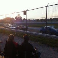 Photo taken at Barrie Speedway by Richard on 8/25/2012
