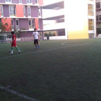 Photo taken at Bina bangsa school stadium by henry d. on 10/9/2011