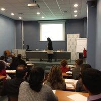 Foto tomada en ESIC Valencia por Vicente G. el 3/27/2012