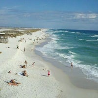Photo taken at Navarre Beach by Sharon C. on 12/30/2011