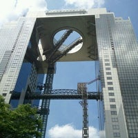 Photo taken at Umeda Sky Building by Ichii Y. on 6/6/2012