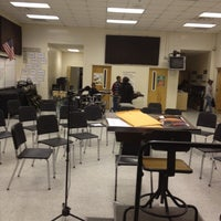 Photo taken at HCMS Band Room by Pamela G. on 4/23/2012