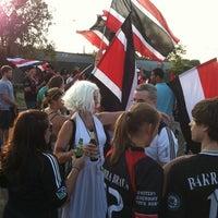 Photo taken at LOT 8 - RFK Stadium by Jen G. on 8/4/2012