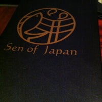 Photo taken at Sen of Japan by Kellie N. on 4/29/2012