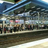 Photo taken at Parramatta Station by Brian C. on 5/14/2012