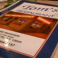 Photo taken at Tom's Restaurant by chris w. on 1/1/2012