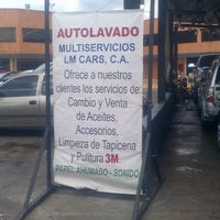 Photo taken at Multiservicios LM Cars, C.A. (E/S Texaco) by Evelyn Z. on 12/23/2011