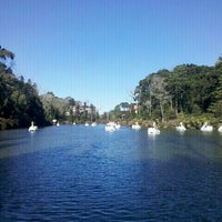 Photo taken at Lago Negro by Leilane Da Paixão L. on 7/8/2012