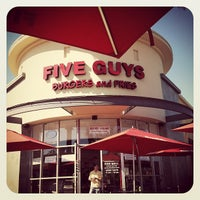 Photo taken at Five Guys by Jamie L. on 3/3/2012