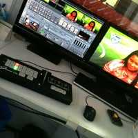 Photo taken at TV Litoral News by Rafael B. on 4/24/2012