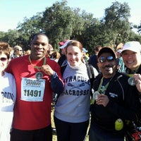 Photo taken at Rock 'n' Roll Savannah Marathon & 1/2 Marathon (Nov 2011) by Margaret P. on 11/5/2011