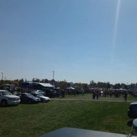 Photo taken at Ball State Tailgate Town by Adam C. on 10/8/2011