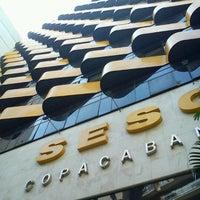 Foto tirada no(a) Hotel Sesc Copacabana por Wagner T. em 12/20/2011