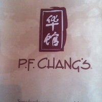Photo taken at P.F. Chang's by Munk D. on 7/16/2012