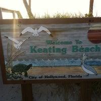 Photo taken at Keating Beach by Skinny Fiber h. on 5/8/2012