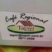 Photo taken at Café Regional Tapiri da Amazônia by Dr. Mauricio Ferreira S. on 9/18/2011