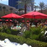 Photo taken at Palms Pool & Dayclub by Jeff L. on 8/3/2012