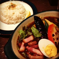 Photo taken at BAR CAFE SOUPCURRY ZORA by intoraw on 8/24/2012