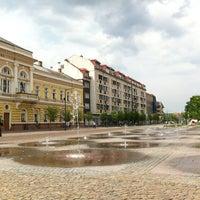 Photo taken at Kossuth tér by Edinka on 5/22/2012