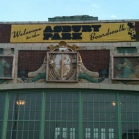 Photo taken at Asbury Park Beach by Jess T. on 7/31/2011