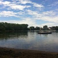 Photo taken at Lake Bonavista by Kinara L. on 8/7/2011