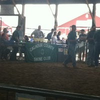 Photo taken at Calhoun County Fairgrounds by Vanessa on 8/15/2012
