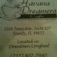 Photo taken at Havana Dreamer's Cafe by Rebecca and Jeff C. on 8/17/2012