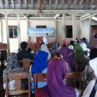 Photo taken at Balai Desa Ponjong by Alifah R. on 10/13/2011