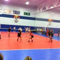 Photo taken at Great Lakes Volleyball Center by Larry F. on 6/10/2012