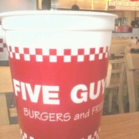 Photo taken at Five Guys by Chris H. on 7/3/2012